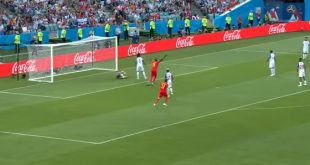 Belgium Polled First Goal Against Panama in FIFA Football World Cup 13 Match 2018 in Russia on 18 June 2018