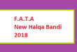 FATA New Halqa Bandi 2018 - NA 40 to NA 51