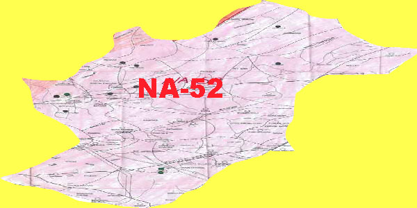 NA-52 Islamabad Area, Map, Candidates and Result
