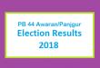 PB 44 Awaran/Panjgur Election Result 2018 - PMLN PTI PPP Candidate Votes Live Update