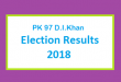 PK 97 D.I.Khan Election Result 2018 - PMLN PTI PPP Candidate Votes Live Update