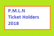 PMLN Ticket Holder 2018 - Candidate List for Election 2018 - National and Punjab Assembly Seats and Halqas