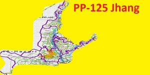PP 125 Jhang Area Map of Punjab Assembly Constituency (Halqa) 2018.