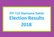 PP 133 Nankana Sahib Election Result 2018 - PMLN PTI PPP Candidate Votes Live Update