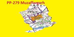 PP 279 Muzaffargarh Area Map of Punjab Assembly Halqa 2018.