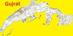 PP 34 Gujrat Area Map of Punjab Assembly Halqa 2018