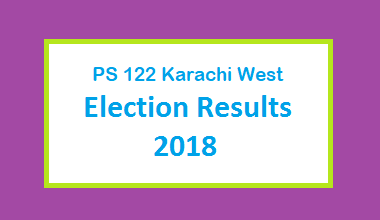 PS 122 Karachi West Election Result 2018 - PMLN PTI PPP Candidate Votes Live Update