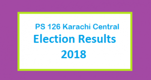 PS 126 Karachi Central Election Result 2018 - PMLN PTI PPP Candidate Votes Live Update