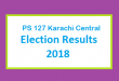 PS 127 Karachi Central Election Result 2018 - PMLN PTI PPP Candidate Votes Live Update