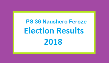 PS 36 Naushero Feroze Election Result 2018 - PMLN PTI PPP Candidate Votes Live Update
