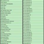 PTI KPK Assembly Candidates Ticket Holders List PK-29 Battagram to PK-67 Peshawar, Mansehra, Torghar, Abbottabad, Haripur, Swabi, Mardan, Charsadda, Nowshera