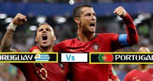Portugal Vs Uruguay Pre Quarter Final Football Live Match (Round of 16) FiFA World Cup 2018