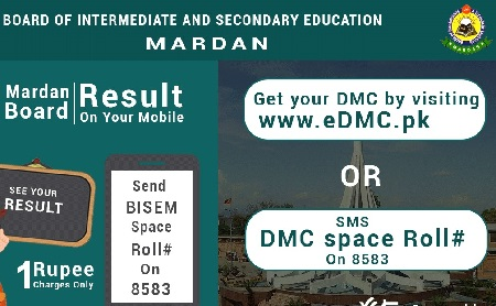 BISE Mardan SSC Part 1, Part 2 / Matric Result 2018 - Toppers Online
