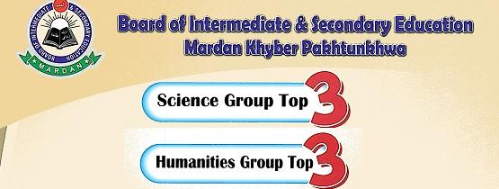Mardan Board Top 20 Position Holders Matric/SSC-II Exam Result 2018