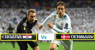 Denmark Vs Croatia Pre Quarter Final Football Live Match (Round of 16) FiFA World Cup 2018