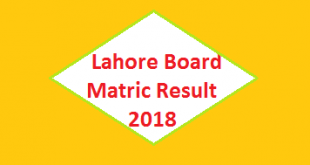 Lahore Board Matric SSC-II Result 2018 - BISE Online Class 10 Exam