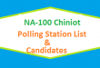 NA 100 Chiniot Polling Station Names and List of Candidates for Election 2018