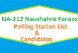 NA 212 Naushahro Feroze Polling Station Names and List of Candidates for Election 2018