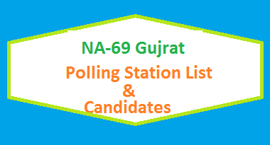 NA 69 Gujrat Polling Station Names and List of Candidates for Election 2018