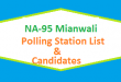 NA 95 Mianwali Polling Station Names and List of Candidates for Election 2018