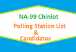 NA 99 Chiniot Polling Station Names and List of Candidates for Election 2018