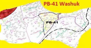 PB 41 Washuk Area Location Map of Balochistan Assembly Halqa 2018
