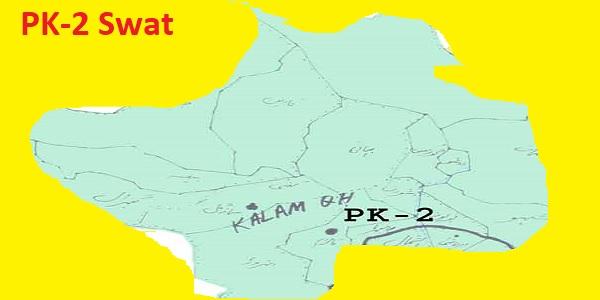 PK 2 Swat Area Location Map of KPK Assembly Halqa 2018 (2)
