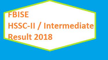 Fbise result hssc 2 2019