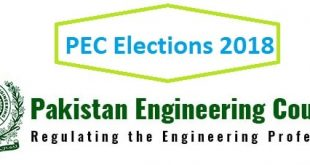 PEC Election Result 2018 - latest updates Live Breaking News Today 12-8-2018
