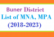Buner District List of MNA and MPA Assembly Period 2018 to 2023