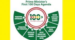 1st 100 Days Agenda of Prime Minister of Pakistan Imran Khan Niazi
