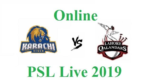 KK Vs LQ Live   PSL 4 Live PTV Sports   Lahore Qalandars Vs