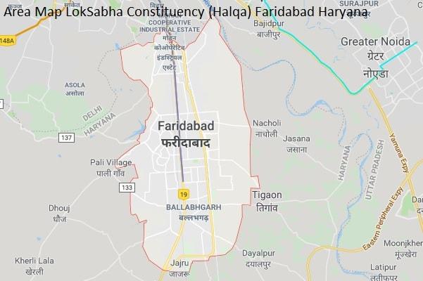 Faridabad Haryana Constituency Indian Election Result Lok