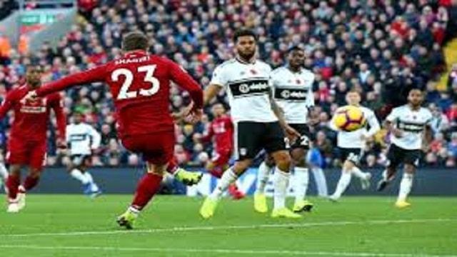 Liverpool Vs Fulham LIV Vs FUL ENGLAND Premier League Live