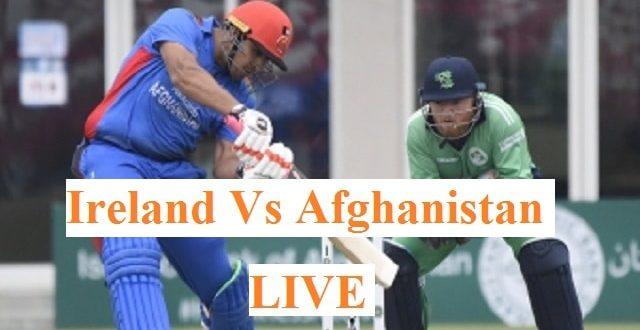 Ireland Vs Afghanistan: Afghanistan Vs Ireland In India 5th ODI