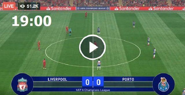 FC Porto Vs Liverpool Live Streaming U2013 FCP Vs LIV UEFA