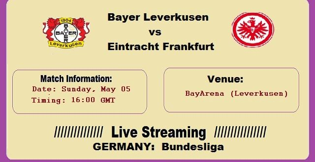 Leverkusen Frankfurt Live Stream