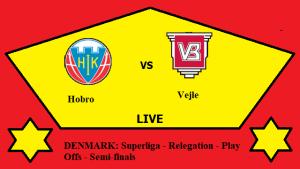 Hobro vs Vejle Live Streaming - HOB vs VEJ DENMARK Superliga Relegation Semi final Head To Head ...