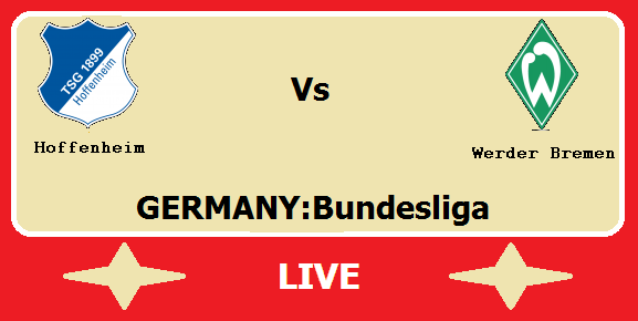 Map Of Germany Hoffenheim.Hoffenheim Vs Werder Bremen Live Streaming Hof Vs Wer German