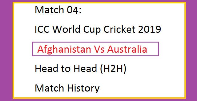 Match 04 ICC World Cup Cricket 2019