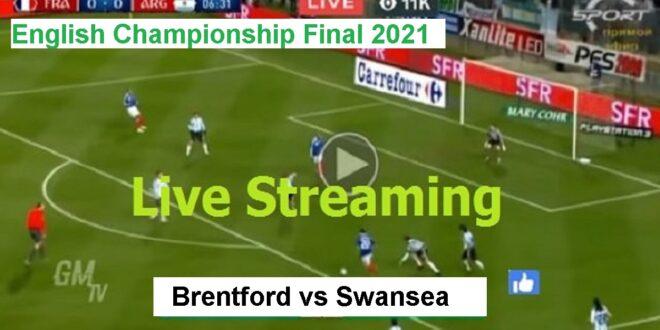 Live English Championship Final   Brentford vs Swansea ...