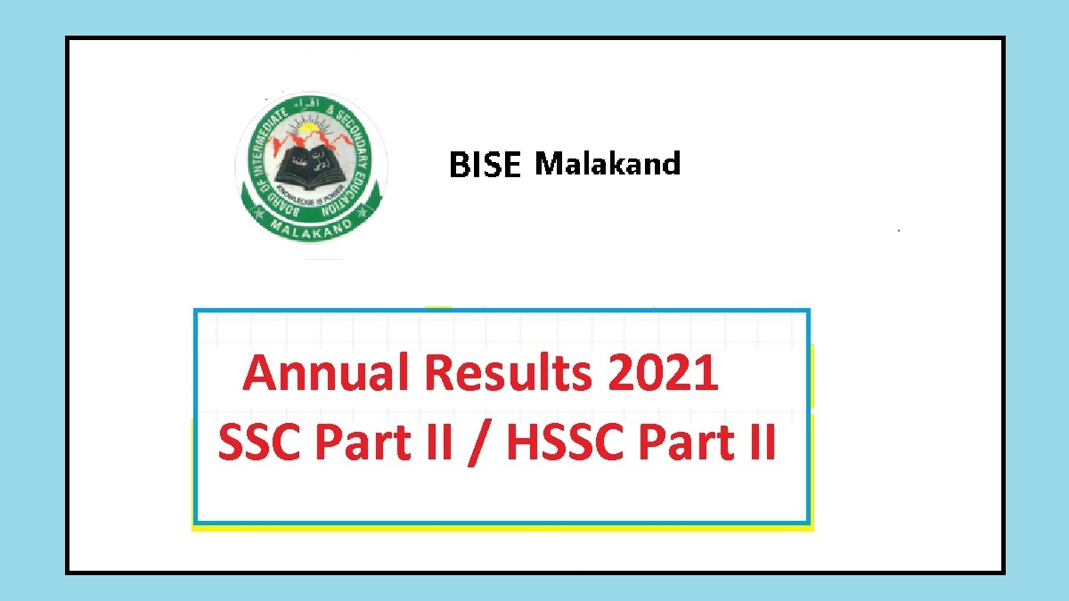 BISE Malakand Board 2021: Expected Date of Annual Results ...